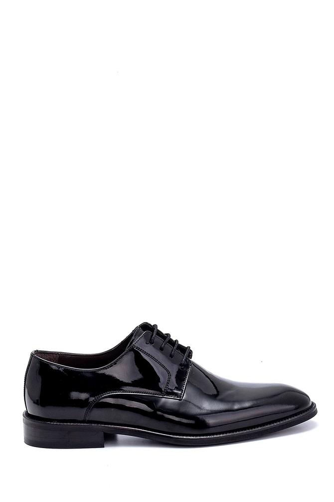 Siyah Erkek Rugan Deri Ayakkabı 5638260391