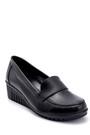 5638260631 Kadın Deri Dolgu Topuk Ayakkabı