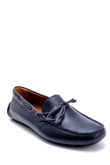 Lacivert Erkek Deri Klasik Loafer 5638265865