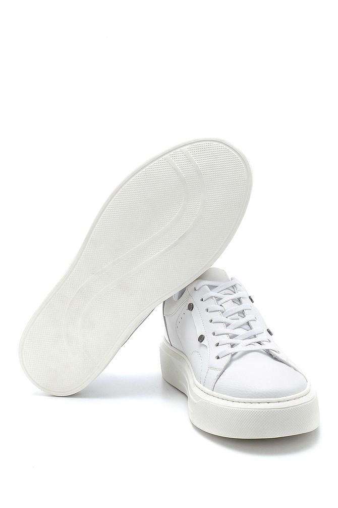 5638276155 Erkek Deri Sneaker