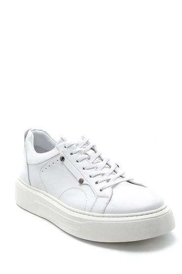 Beyaz Erkek Deri Sneaker 5638276155