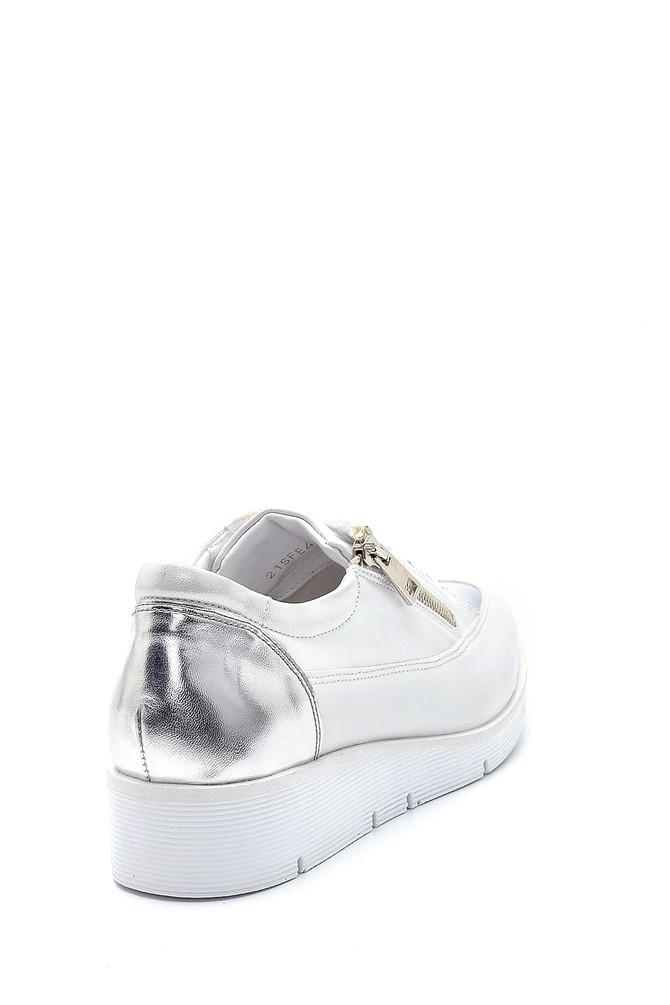 5638276252 Kadın Fermuar Detaylı Sneaker