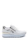 5638276264 Kadın Fermuar Detaylı Sneaker