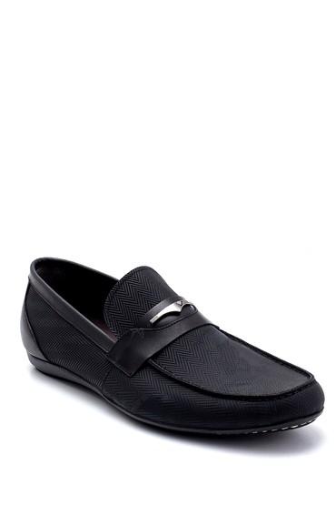 Siyah Erkek Deri Nubuk Loafer 5638247278