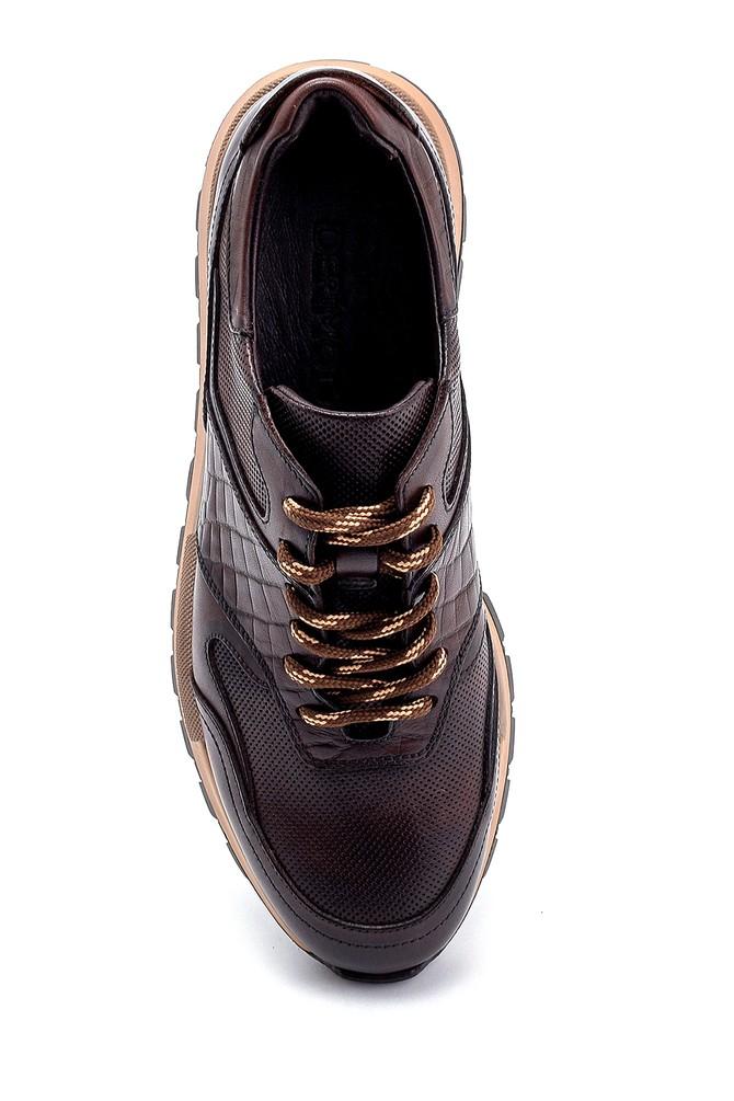 5638247890 Erkek Deri Sneaker