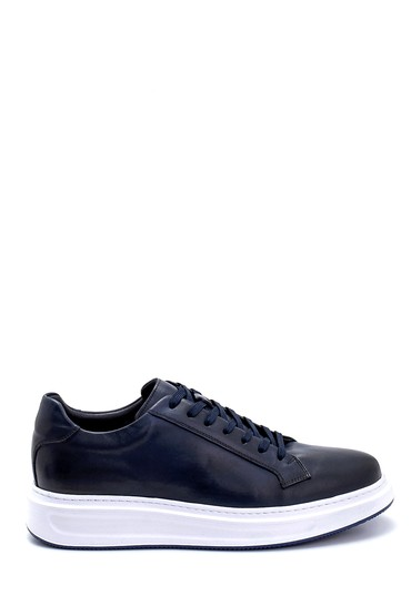 Lacivert Erkek Deri Sneaker 5638247927