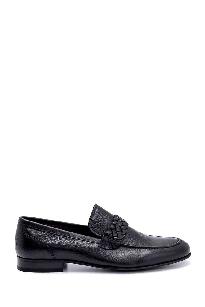 Siyah Erkek Deri Klasik Loafer 5638249453