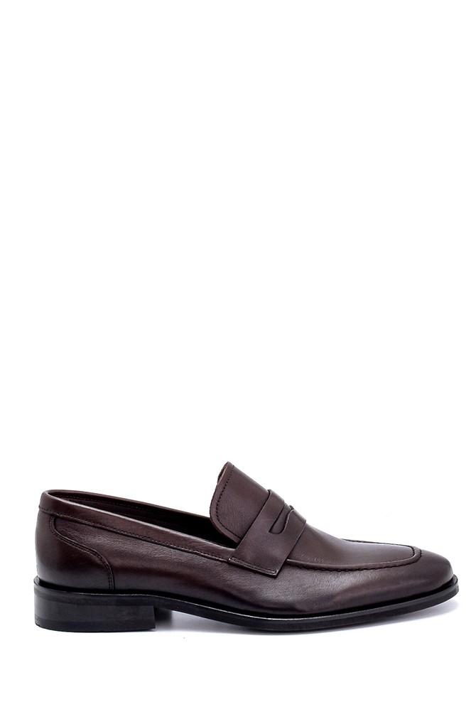 Kahverengi Erkek Deri Klasik Loafer 5638249500