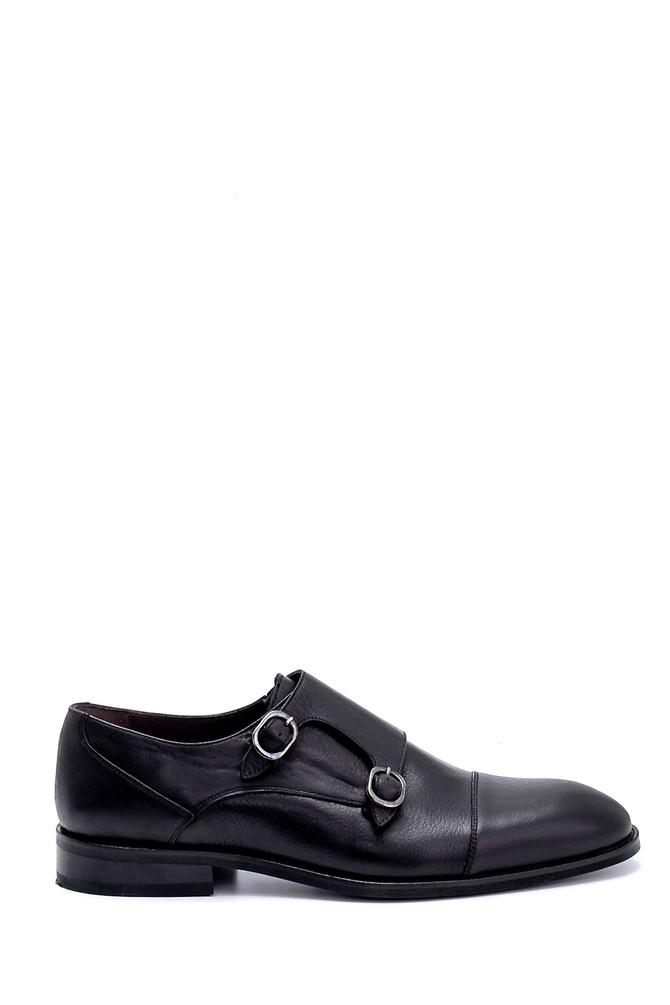 Siyah Erkek Deri Klasik Ayakkabı 5638250886