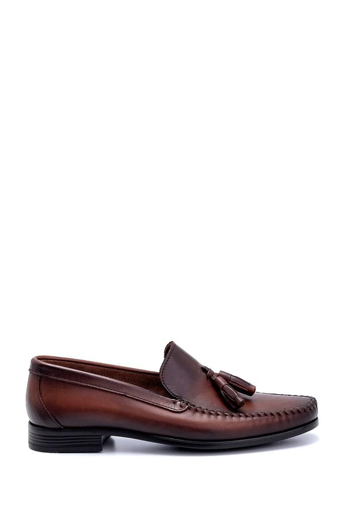 Kahverengi Erkek Deri Loafer 5638251252