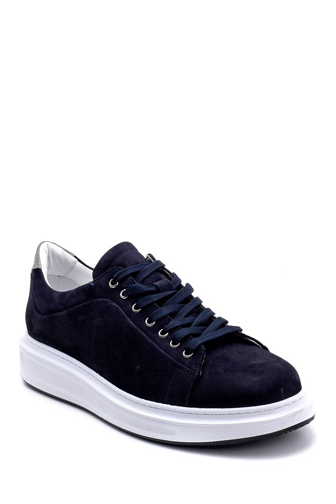 5638253280 Erkek Deri Nubuk Sneaker