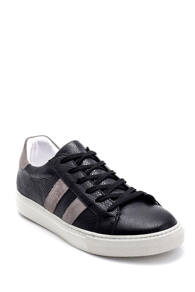 5638254129 Erkek Deri Sneaker