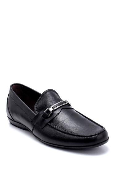 Siyah Erkek Deri Loafer 5638260300