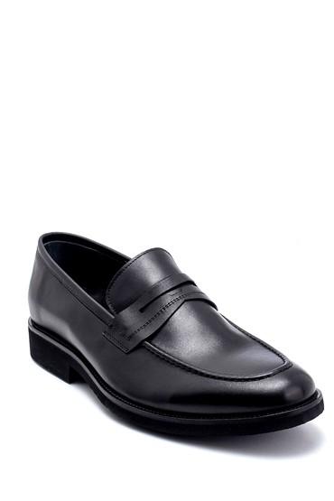 Siyah Erkek Deri Loafer 5638265899