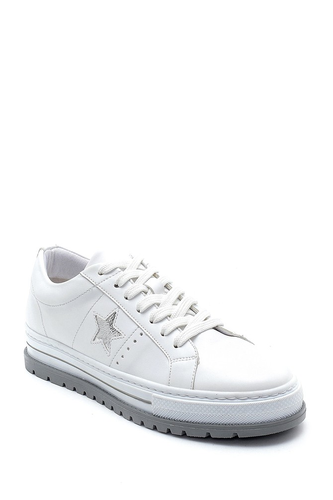 5638276588 Kadın Yıldız Detaylı Sneaker