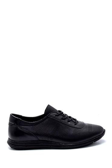 Siyah Kadın Deri Casual Ayakkabı 5638260051