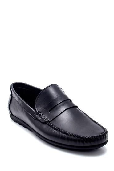 Siyah Erkek Deri Loafer 5638251382