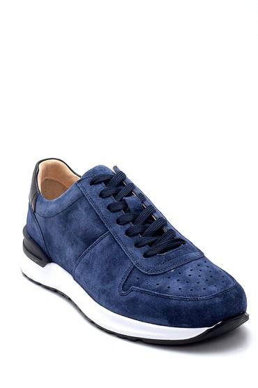 Lacivert Erkek Süet Sneaker 5638253212