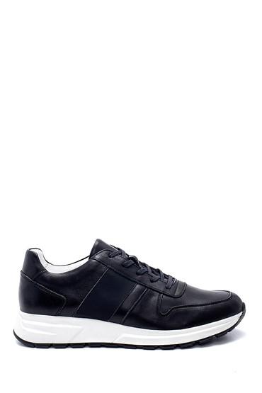 Siyah Erkek Deri Sneaker 5638254060