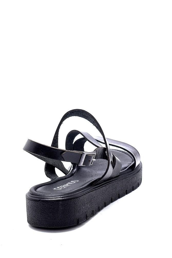 5638255328 Kadın Deri Sandalet