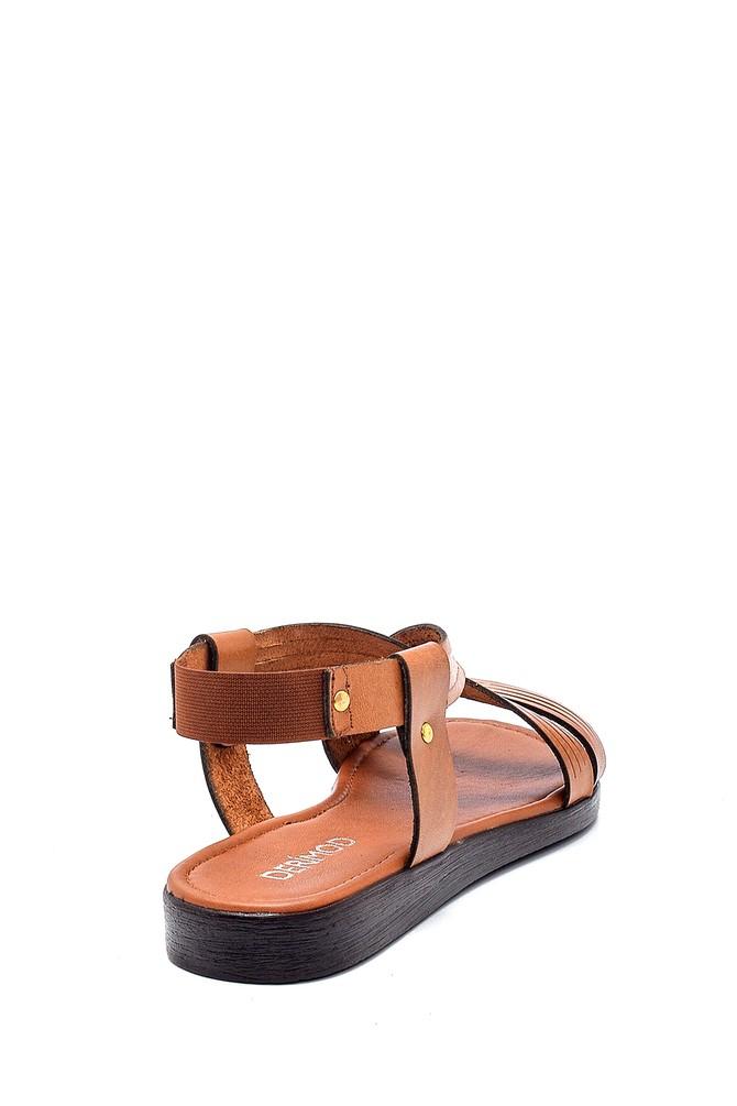 5638255575 Kadın Deri Sandalet