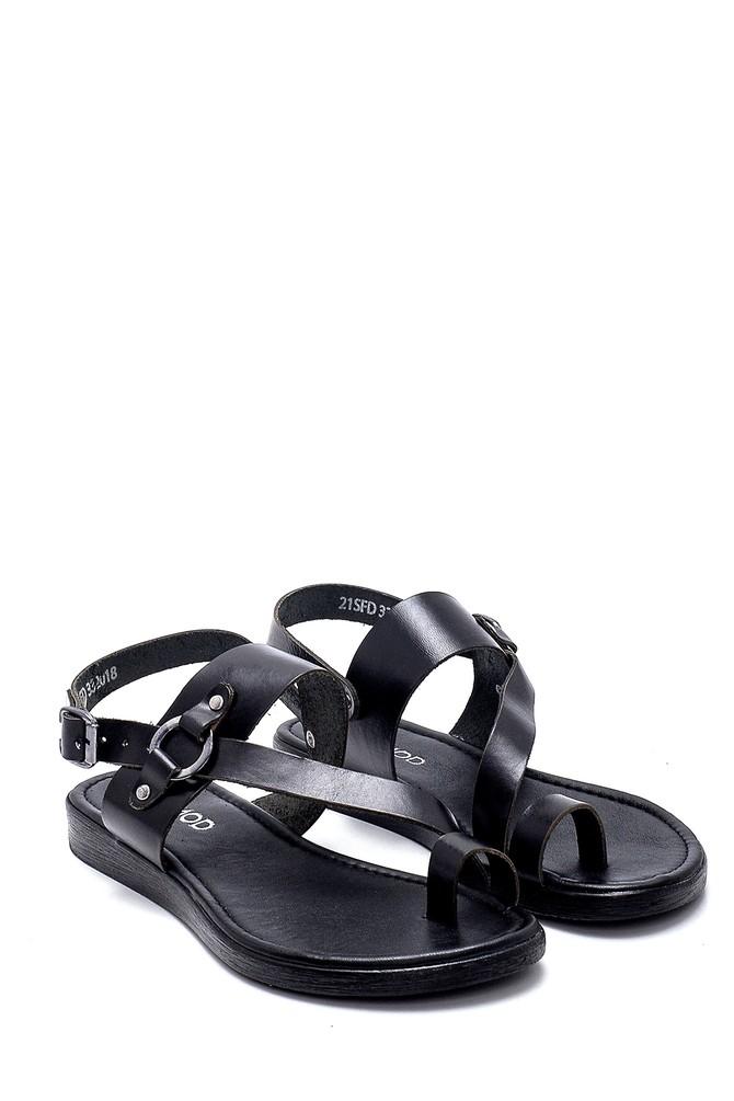 5638255590 Kadın Deri Sandalet
