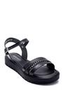 5638255636 Kadın Deri Sandalet