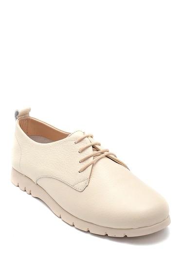 Bej Kadın Deri Ayakkabı 5638260861