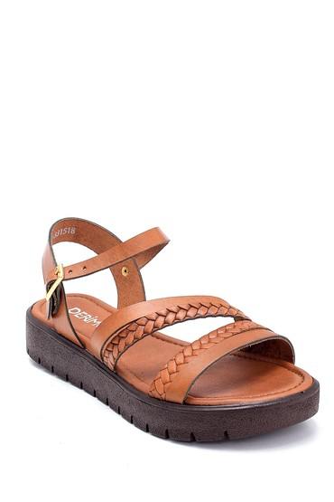 Taba Kadın Deri Sandalet 5638255462