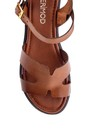 5638255499 Kadın Deri Sandalet