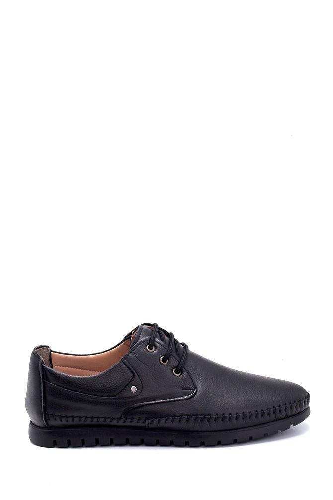 Siyah Erkek Deri Ayakkabı 5638259459