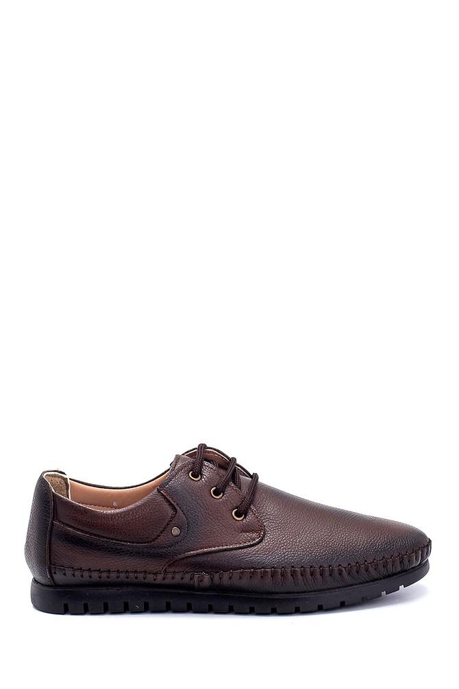 Kahverengi Erkek Deri Ayakkabı 5638259453