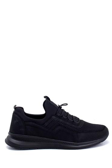 Siyah Erkek Deri Sneaker 5638259565
