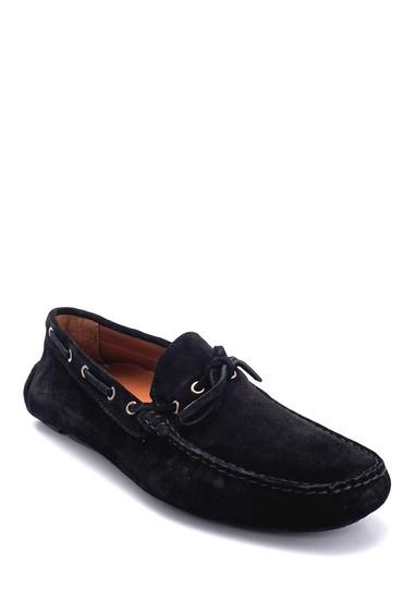 Siyah Erkek Süet Klasik Loafer 5638265757