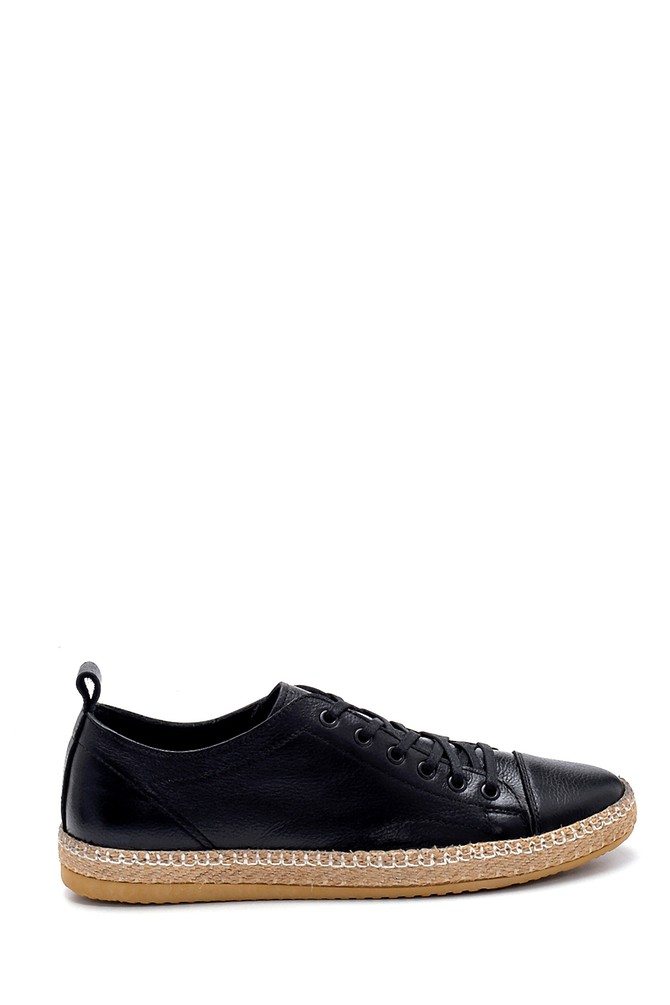 Siyah Erkek Deri Casual Ayakkabı 5638269938
