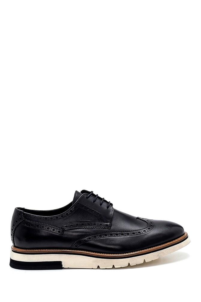 Siyah Erkek Deri Casual Ayakkabı 5638277019