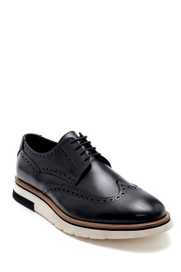 Siyah Erkek Deri Casual Ayakkabı 5638277031
