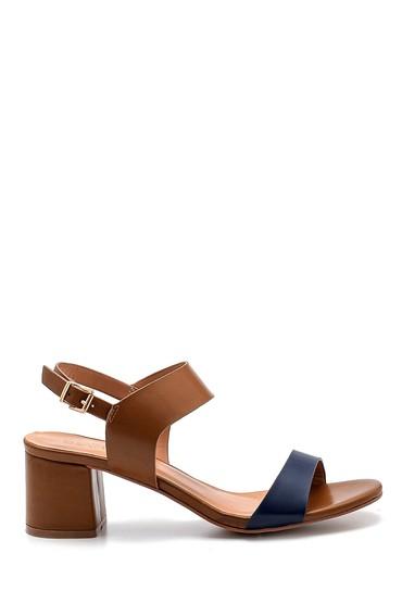 Taba Kadın Topuklu Sandalet 5638271626