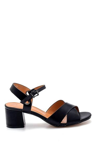 Siyah Kadın Topuklu Sandalet 5638271673
