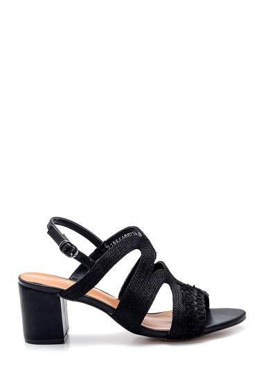 Siyah Kadın Topuklu Sandalet 5638271752
