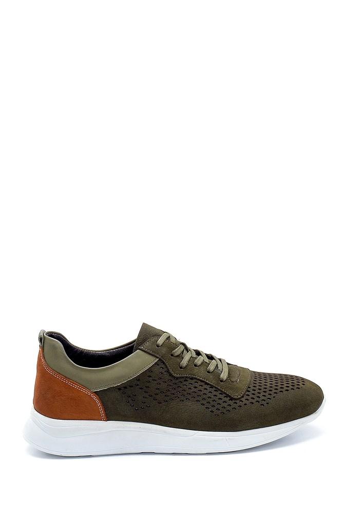 Yeşil Erkek Nubuk Sneaker 5638254638