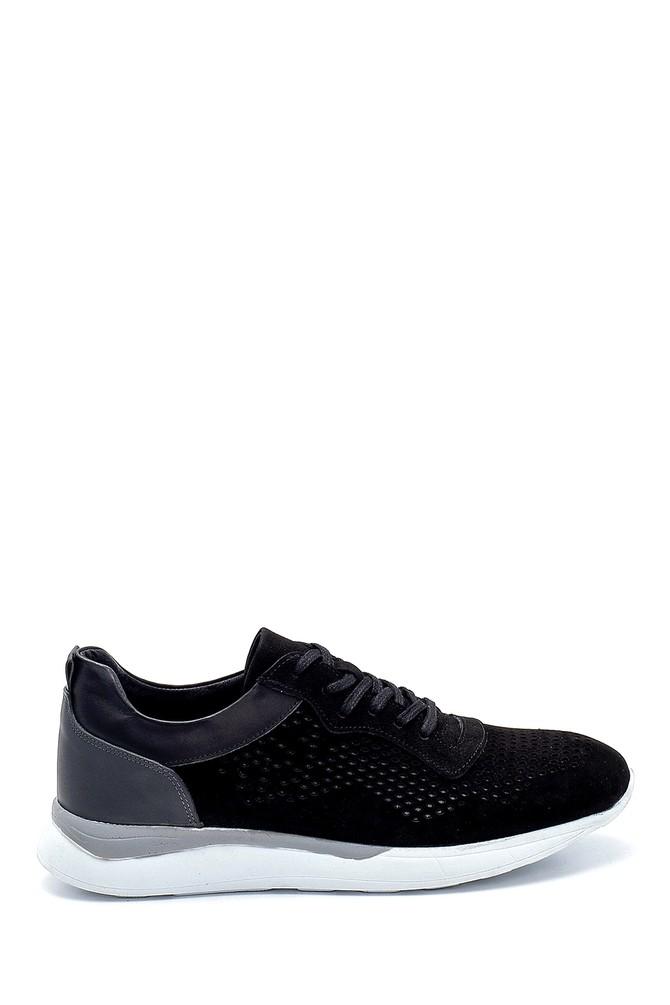 Siyah Erkek Nubuk Sneaker 5638254644