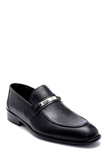 Siyah Erkek Deri Loafer 5638257051
