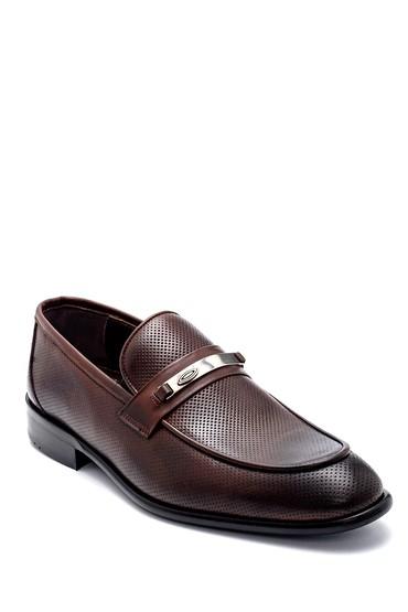 Kahverengi Erkek Deri Loafer 5638257057