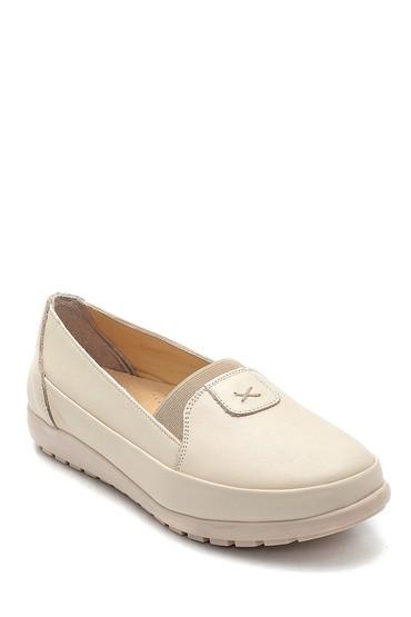 Bej Kadın Deri Ayakkabı 5638265435