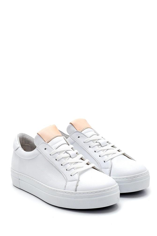 5638272912 Kadın Deri Sneaker