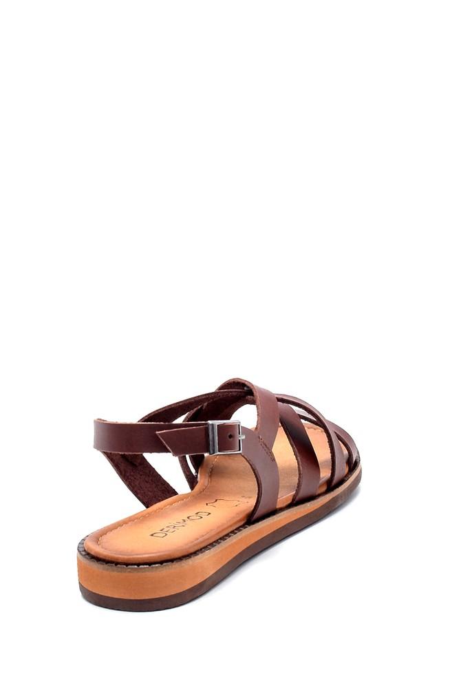 5638273301 Kadın Deri Sandalet