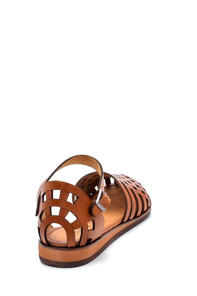 5638273369 Kadın Deri Sandalet