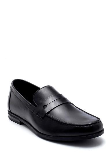 Siyah Erkek Deri Loafer 5638276982