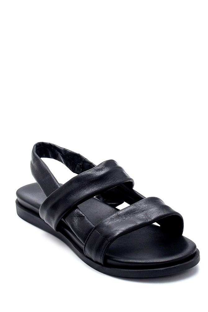 5638260767 Kadın Deri Sandalet